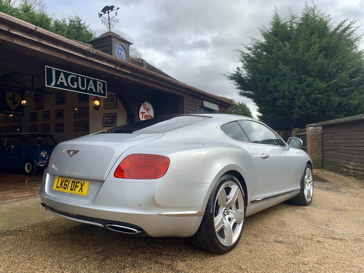 2011 BENTLEY CONTINENTAL GT W12 MULLINER DRIVING SPEC' SOLD (picture 2 of 6)