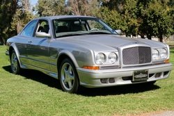 2001 Bentley Continental R 420 Sedan Rare 420-HP Silver $87.