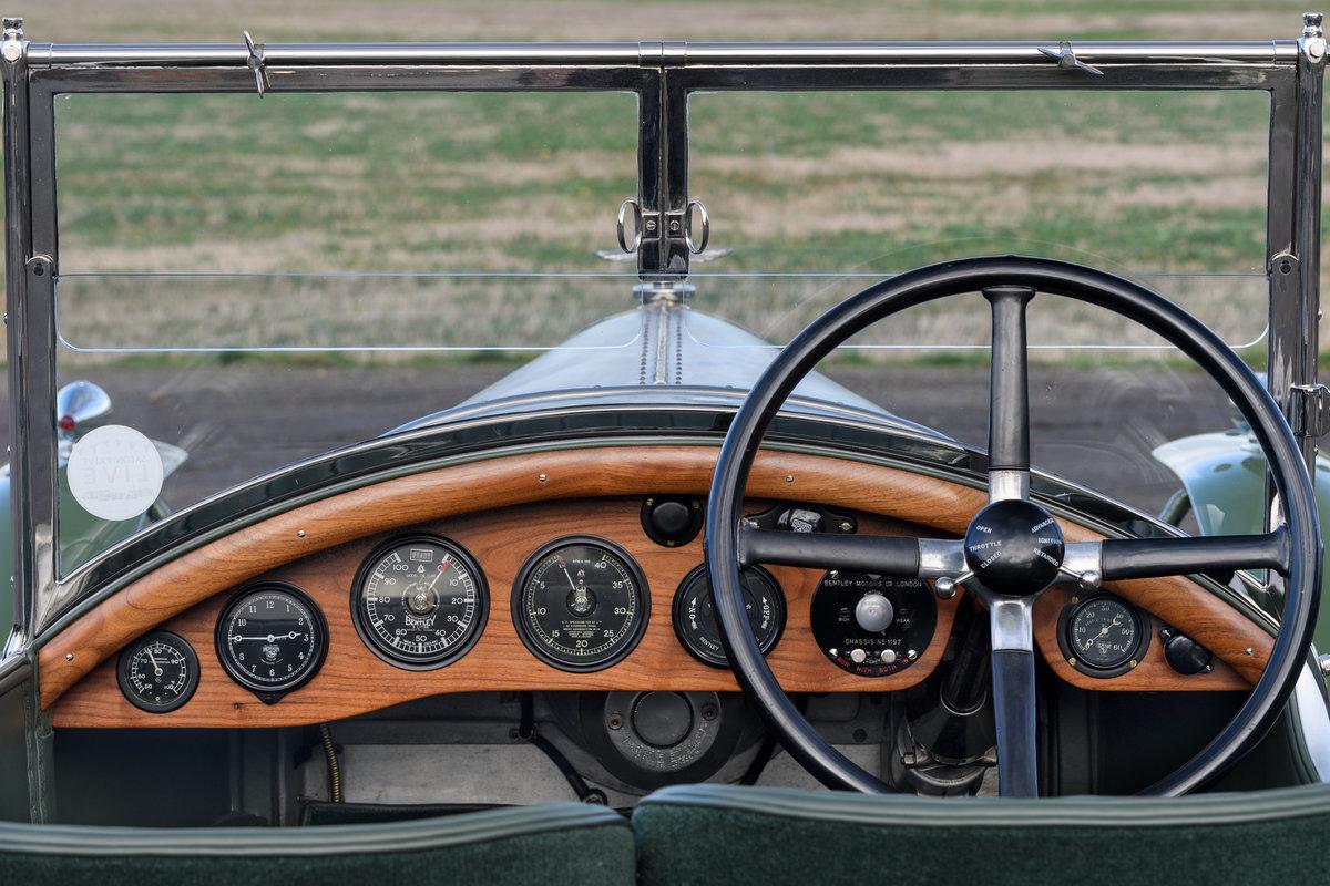 1925 Bentley 3 Litre Speed Model Vanden Plas Open Tourer For Sale (picture 5 of 12)