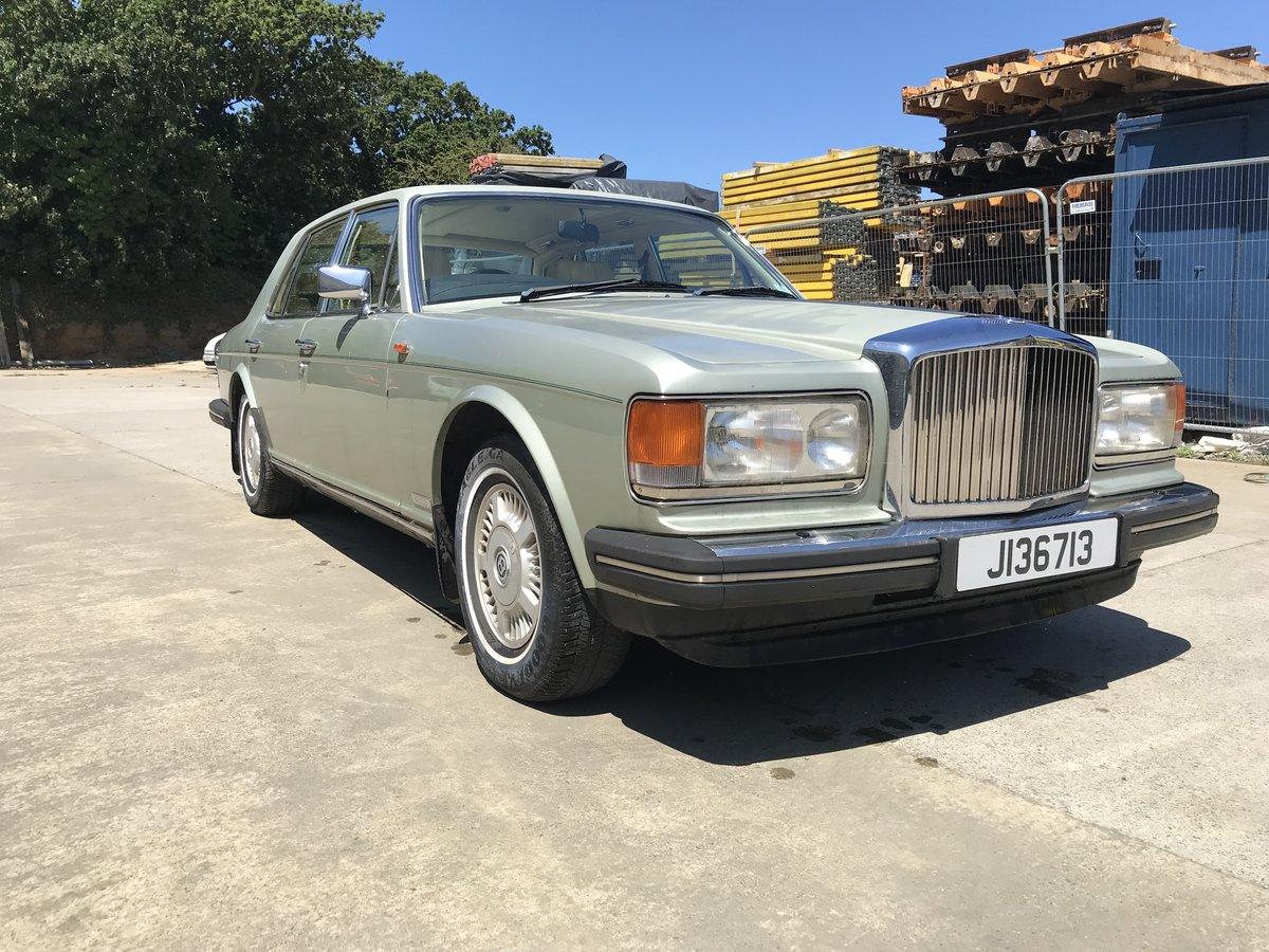 1986 Bentley Mulsanne SOLD (picture 1 of 2)