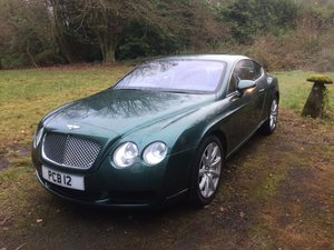 Bentley continental gt. Outstanding.