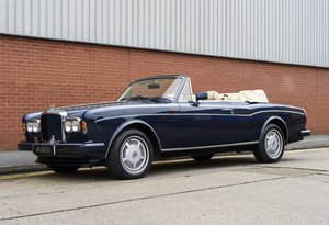 1990 Bentley Continental Convertible (RHD) For Sale