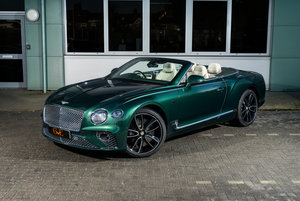 Delivey miles First Edition Bentley GTC 2019