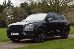 2019 Bentley Bentayga Speed W12 - Blackline + City + Touring Spec For Sale