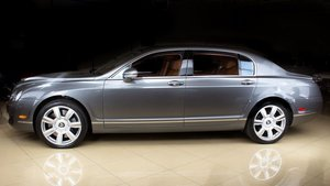 2008 Bentley Continental Flying Spur Sedan Grey(~)Ginger