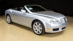 2008 Bentley Continental GTC Convertible Silver(~)Black $62