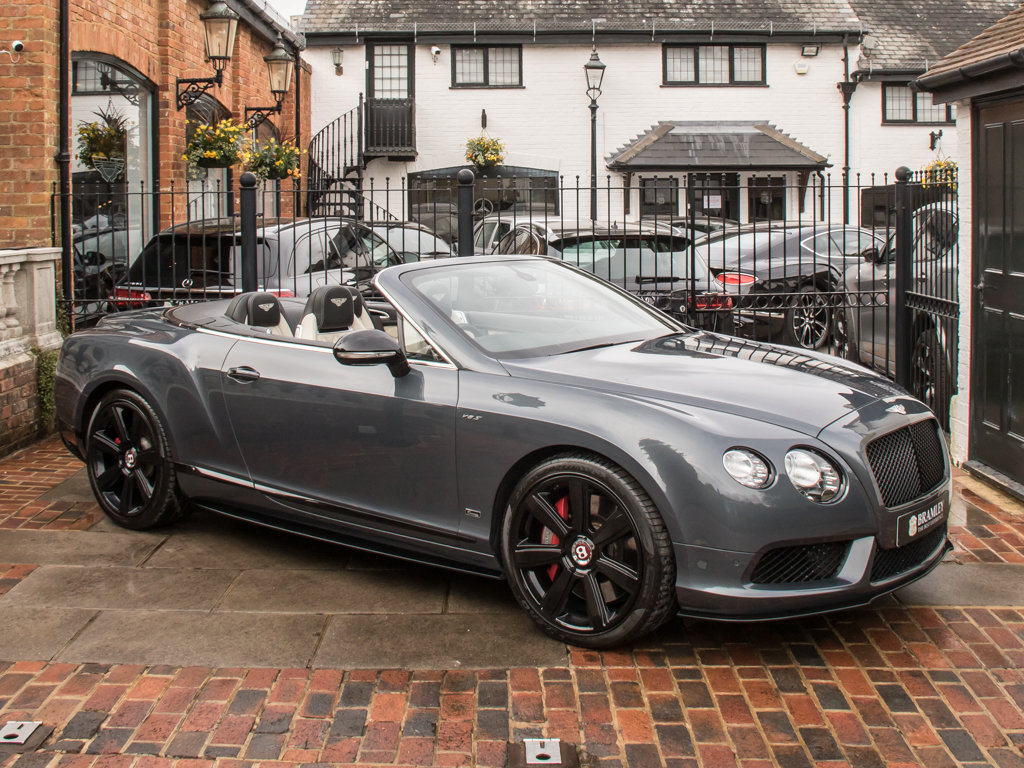 2015 Bentley    Continental GT V8 S Cabriolet Concours Series Bla For Sale (picture 2 of 18)