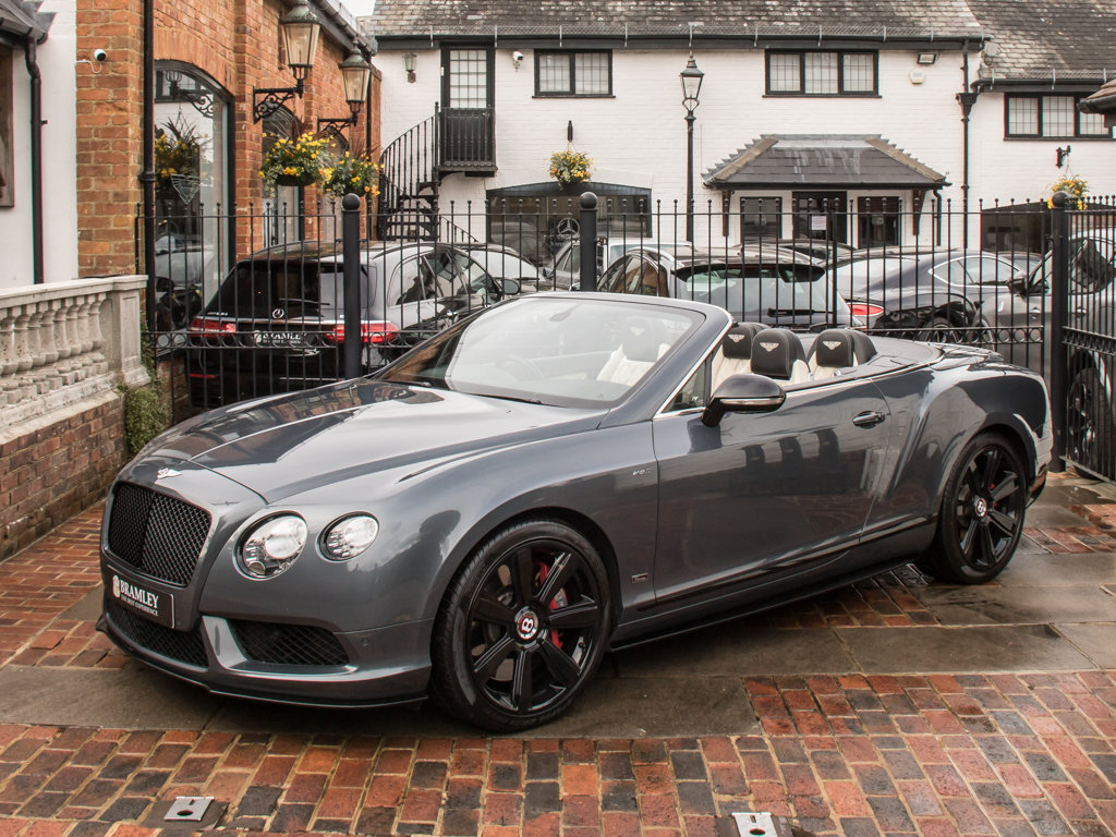 2015 Bentley    Continental GT V8 S Cabriolet Concours Series Bla For Sale (picture 4 of 18)