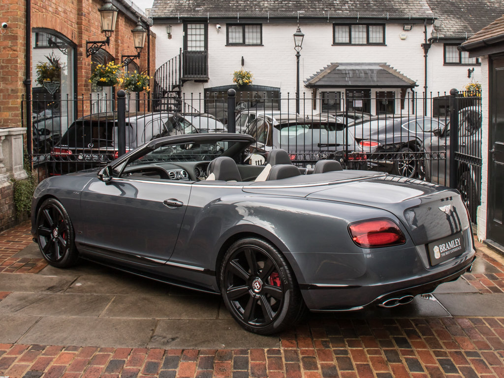 2015 Bentley    Continental GT V8 S Cabriolet Concours Series Bla For Sale (picture 5 of 18)