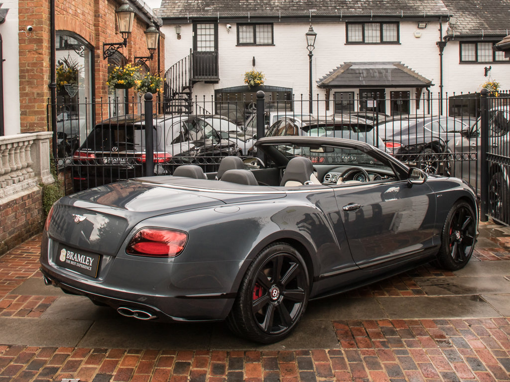 2015 Bentley    Continental GT V8 S Cabriolet Concours Series Bla For Sale (picture 7 of 18)