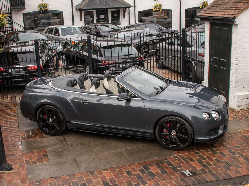 2015 Bentley    Continental GT V8 S Cabriolet Concours Series Bla For Sale (picture 8 of 18)
