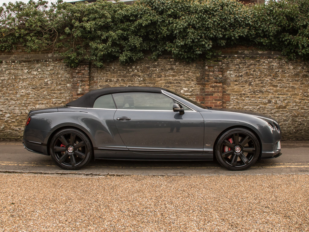 2015 Bentley    Continental GT V8 S Cabriolet Concours Series Bla For Sale (picture 9 of 18)