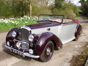 1949 Bentley Mk VI Drop-head coupe by Park Ward