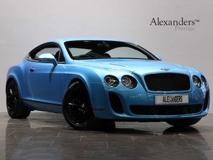 11 11 BENTLEY CONTINENTAL GT SUPERSPORTS 6.0 W12 AUTO