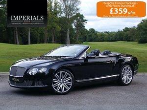 Bentley  CONTINENTAL GTC  MULLINER CABRIOLET 2012 MODEL AUTO