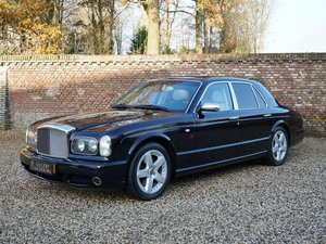 2003 Bentley Arnage T 6.75 litre twin-turbo only 37.581 km, full