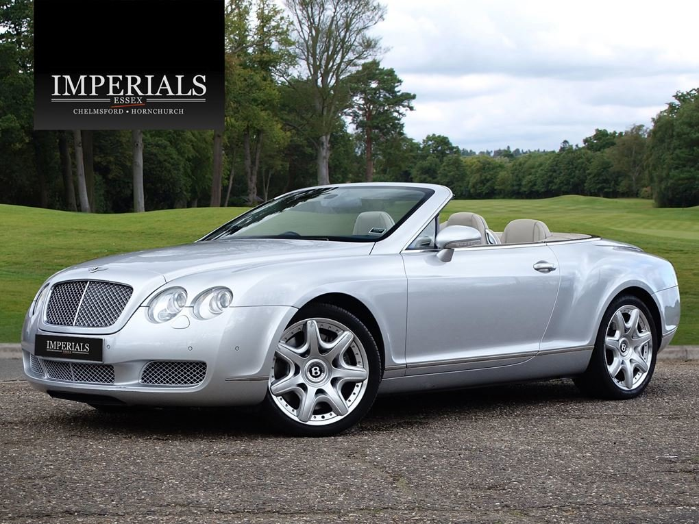 2007 Bentley  CONTINENTAL GTC  CABRIOLET AUTO  29,948 For Sale (picture 1 of 19)