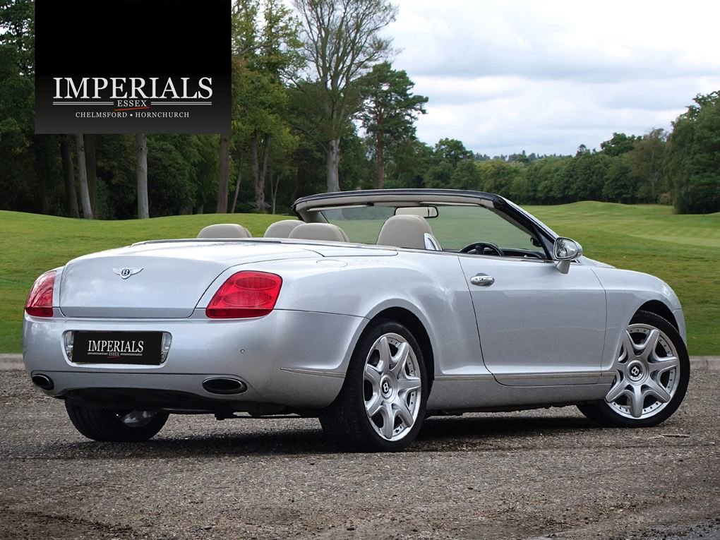 2007 Bentley  CONTINENTAL GTC  CABRIOLET AUTO  29,948 For Sale (picture 4 of 19)