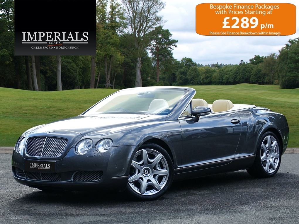2008 Bentley  CONTINENTAL GTC  MULLINER CABRIOLET AUTO  39,948 For Sale (picture 1 of 24)