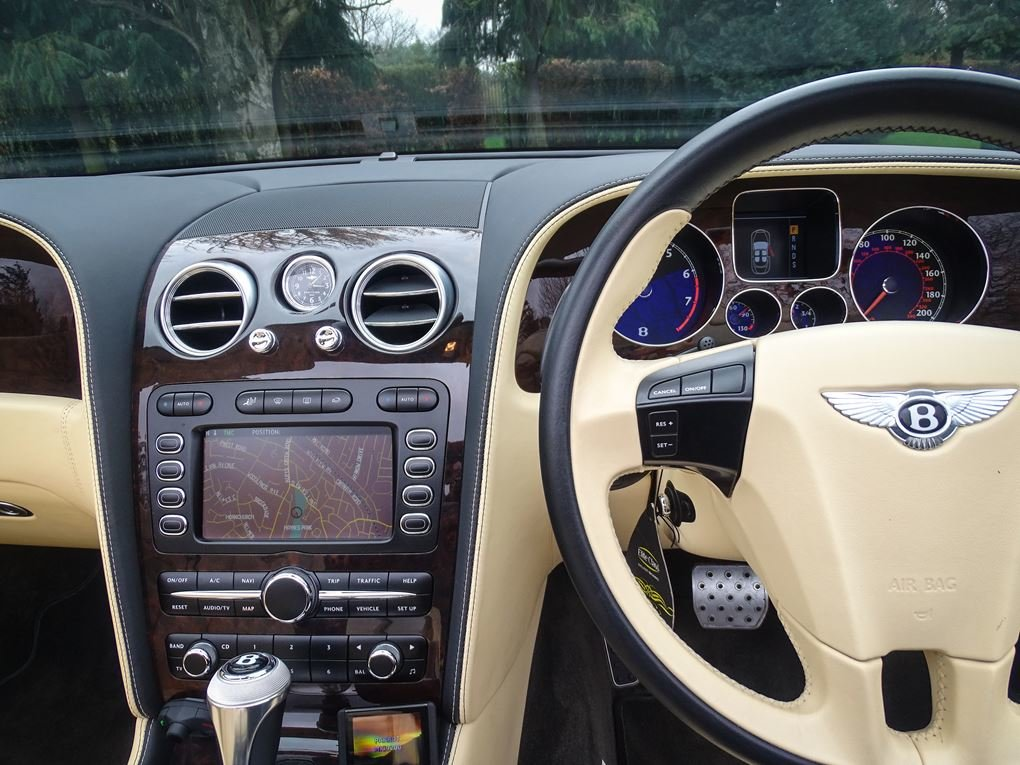 2008 Bentley  CONTINENTAL GTC  MULLINER CABRIOLET AUTO  39,948 For Sale (picture 8 of 24)