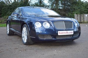 2005/05 Bentley Continental GT in Sapphire Blue