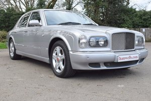 2001 X Bentley Arnage Red Label in Silver Pearl