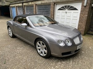 2007 LHD Bentley GTC