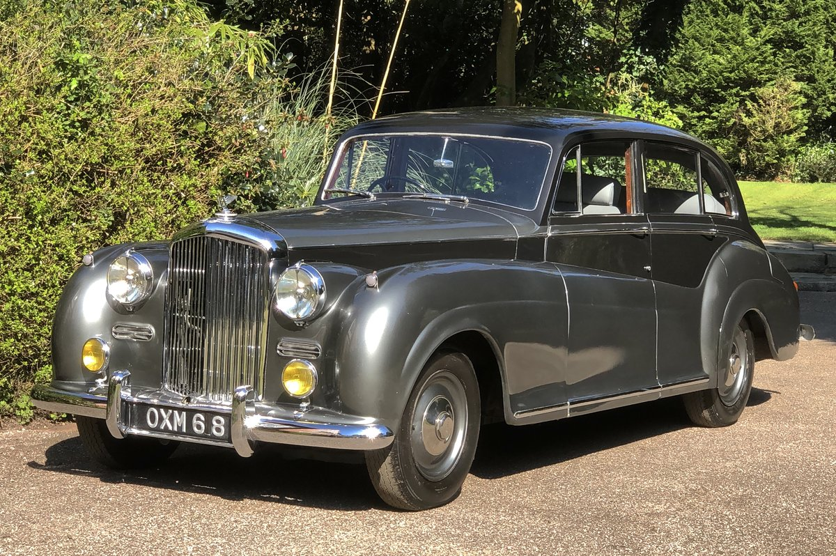 1952 Bentley R TYPE James Young Sports Saloon  For Sale (picture 1 of 6)