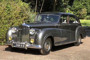 1952 Bentley R TYPE James Young Sports Saloon