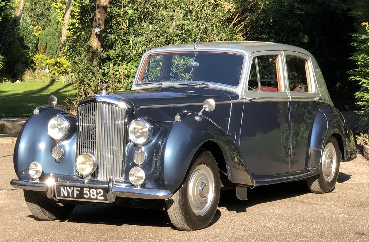 1953 BENTLEY R TYPE  SPORTS SALOON For Sale (picture 1 of 6)