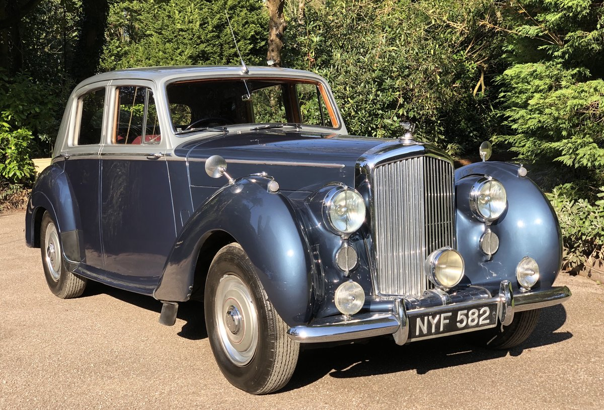 1953 BENTLEY R TYPE  SPORTS SALOON For Sale (picture 4 of 6)