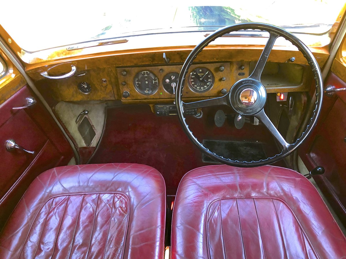 1953 BENTLEY R TYPE  SPORTS SALOON For Sale (picture 5 of 6)
