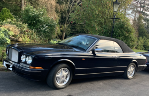 Magnificent Bentley Azure Midnight Blue