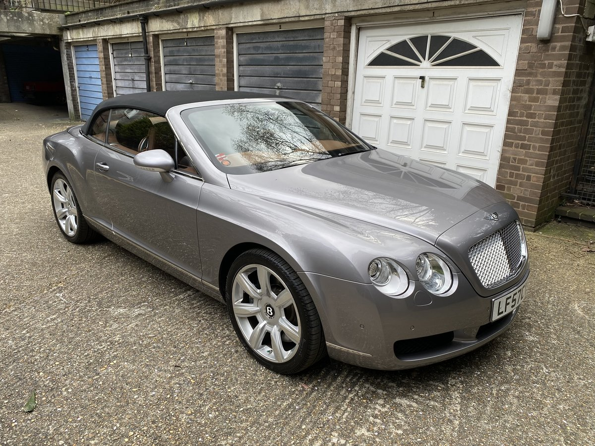 2007 Bentley GTC LHD For Sale (picture 3 of 6)