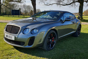 2011 2012MY Bentley Continental GT Supersports inc Sat Nav | 2+2 For Sale