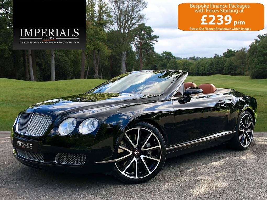 2008 Bentley  CONTINENTAL GTC  MULLINER CABRIOLET AUTO  34,948 For Sale (picture 1 of 24)