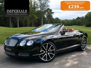 2008 Bentley  CONTINENTAL GTC  MULLINER CABRIOLET AUTO  34,948 For Sale