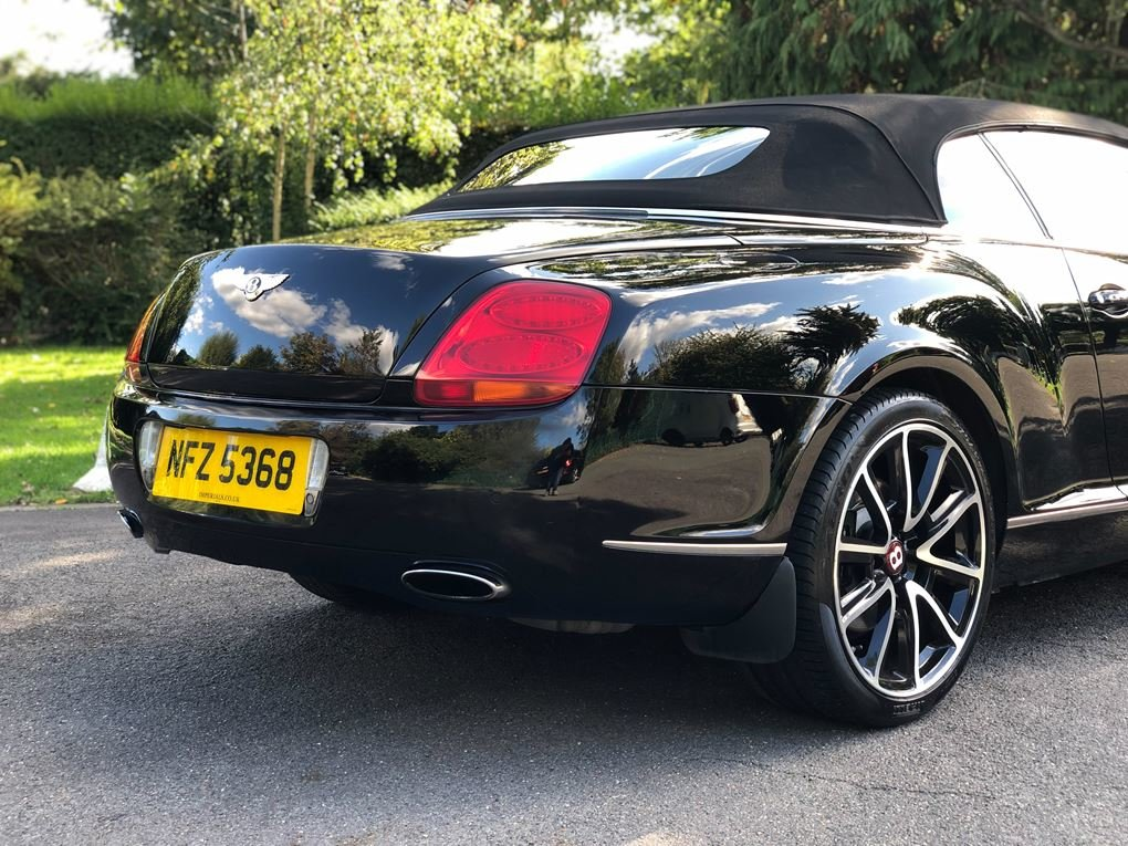 2008 Bentley  CONTINENTAL GTC  MULLINER CABRIOLET AUTO  34,948 For Sale (picture 10 of 24)
