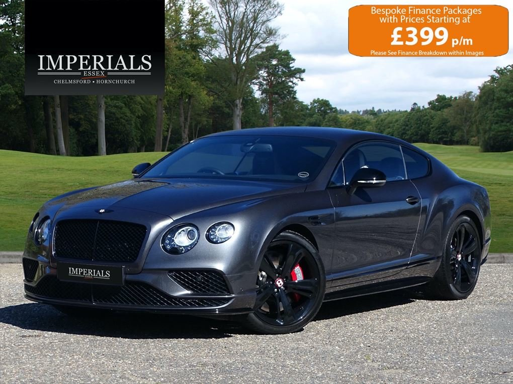 2016 Bentley  CONTINENTAL GT  4.0 V8 S MULLINER COUPE 2017 MODEL  For Sale (picture 1 of 24)