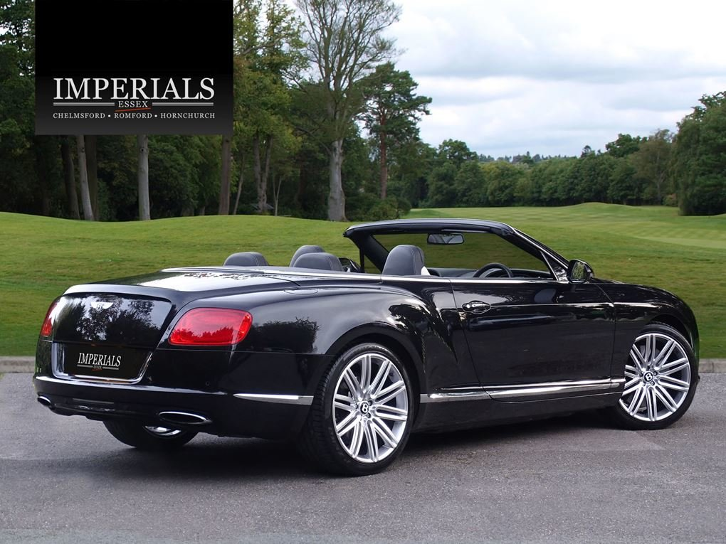Bentley  CONTINENTAL GTC  MULLINER CABRIOLET 2012 MODEL AUTO For Sale (picture 4 of 24)