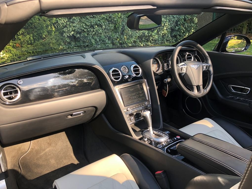 Bentley  CONTINENTAL GTC  MULLINER CABRIOLET 2012 MODEL AUTO For Sale (picture 12 of 24)