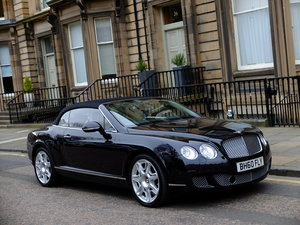 BENTLEY CONTINENTAL GTC MULLINER - IMPECCABLE - 42K MILES !