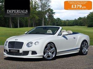 2012 Bentley  CONTINENTAL GTC  MULLINER CABRIOLET AUTO  57,948
