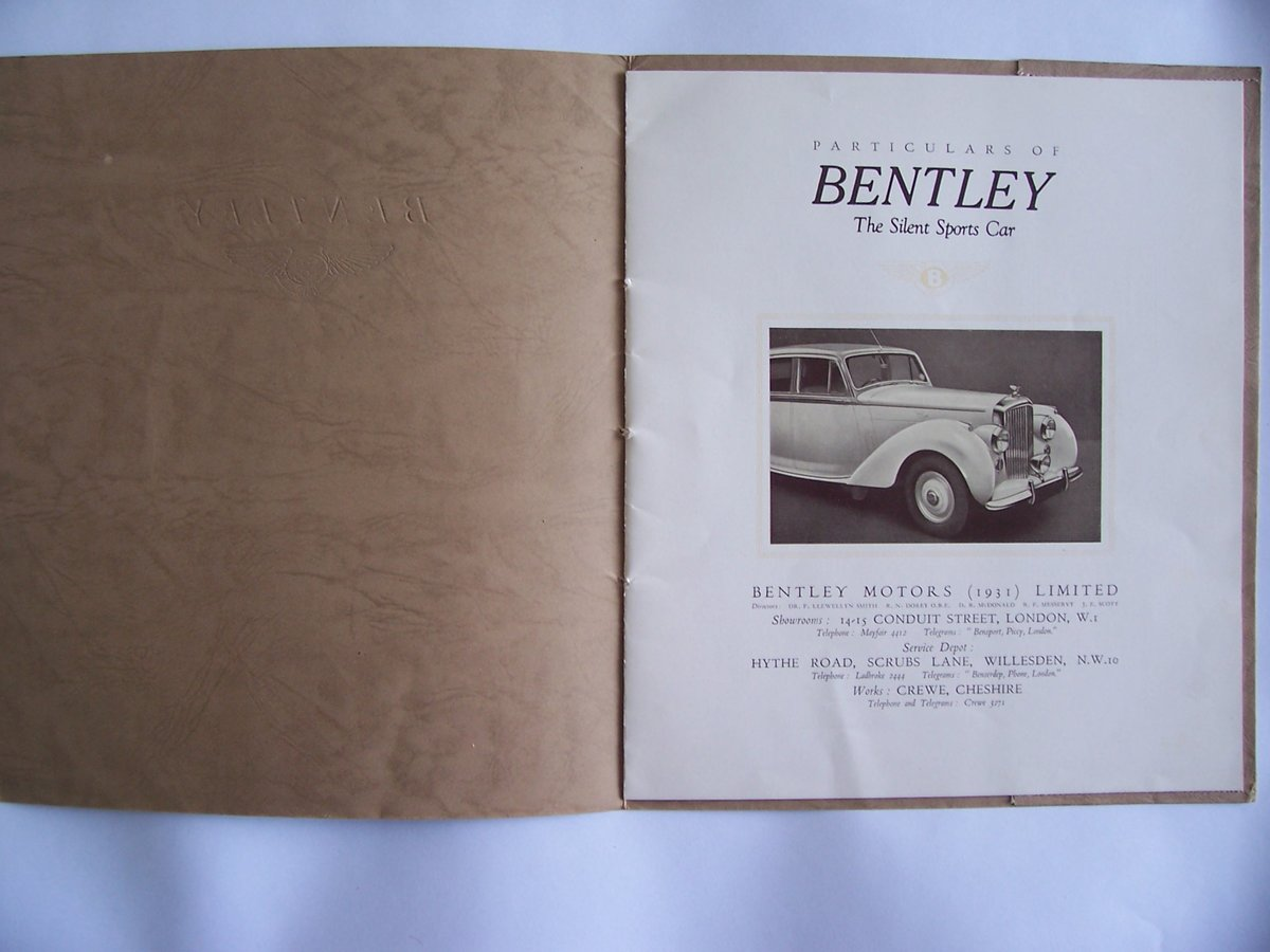 1952 BENTLEY R-TYPE For Sale (picture 2 of 5)