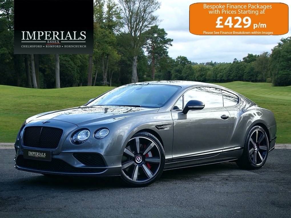 2016 Bentley  CONTINENTAL GT  4.0 V8 S MULLINER FACELIFT COUPE AU For Sale (picture 1 of 24)