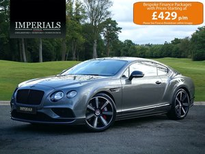 2016 Bentley  CONTINENTAL GT  4.0 V8 S MULLINER FACELIFT COUPE AU