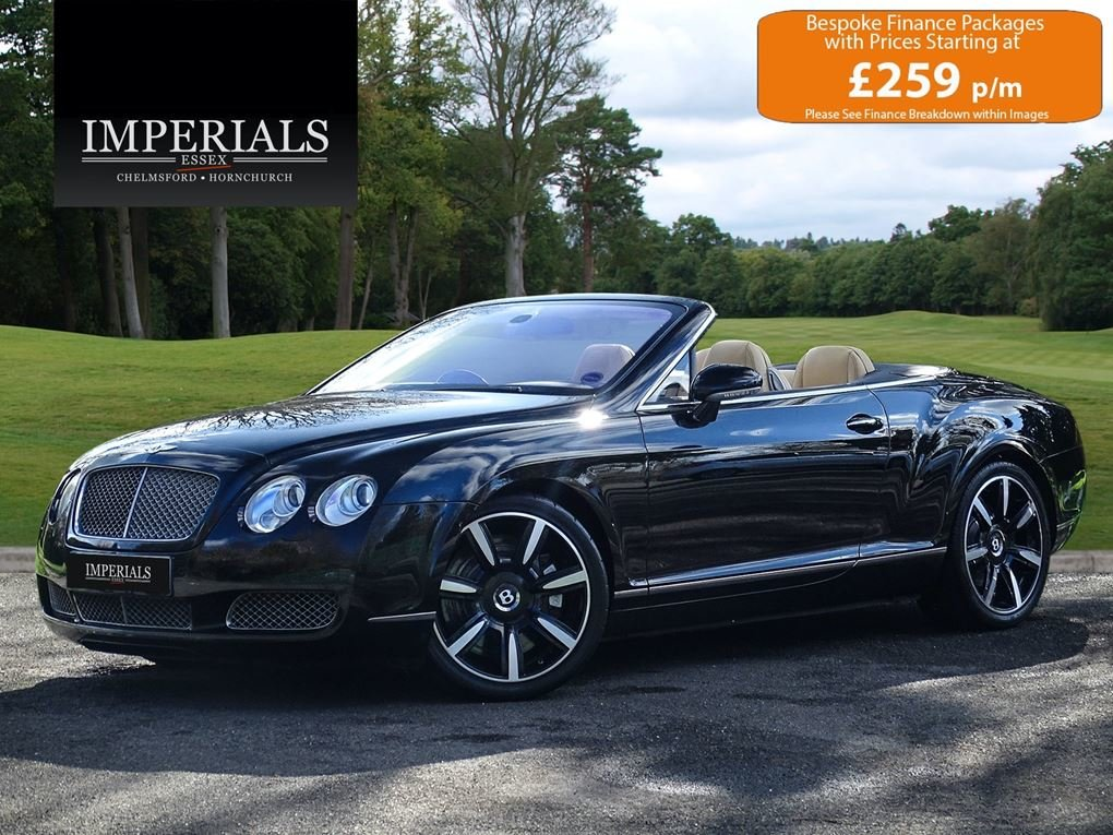 2006 Bentley  CONTINENTAL GTC  CABRIOLET AUTO  29,948 For Sale (picture 1 of 21)