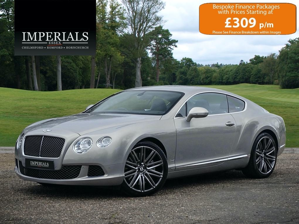 2014 Bentley  CONTINENTAL GT  SPEED COUPE AUTO  54,948 For Sale (picture 1 of 20)
