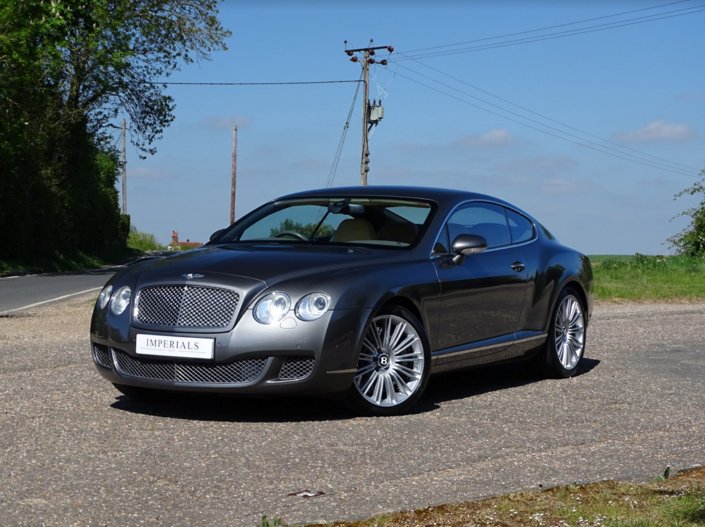2008 Bentley  CONTINENTAL GT  GT SPEED 6.0 COUPE AUTO  28,948 For Sale (picture 1 of 23)