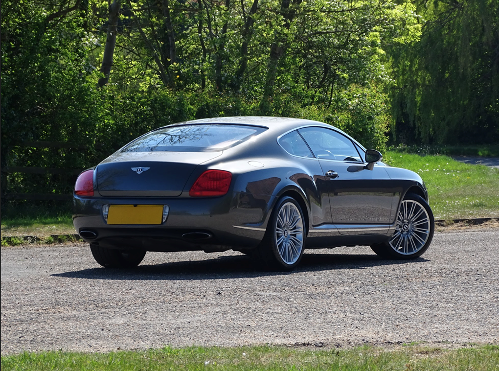 2008 Bentley  CONTINENTAL GT  GT SPEED 6.0 COUPE AUTO  28,948 For Sale (picture 4 of 23)